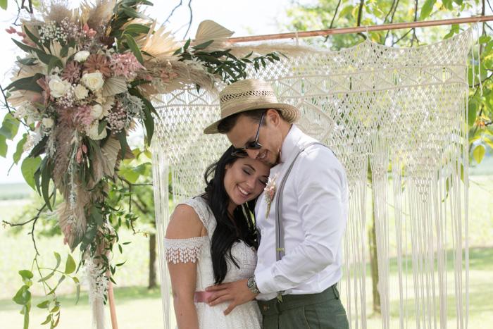 Pastell & Boho: Hochzeitstraum am Oberbauergut