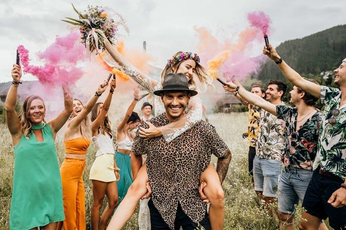 L'amore è un festival: il matrimonio in stile Coachella