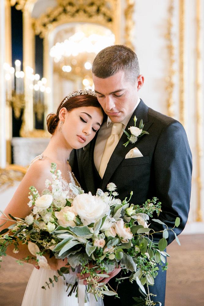 Prachtvolle Hochzeit im Stadtpalais Liechtenstein