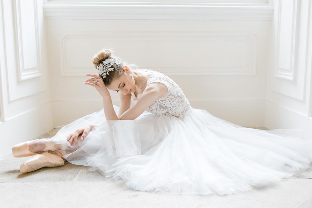 Prima Ballerina - Sierlijke elegantie in zachte kleuren