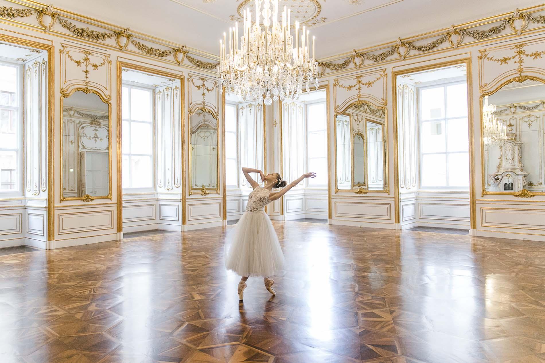 Prima Ballerina – Graziöse Eleganz in zarten Farben
