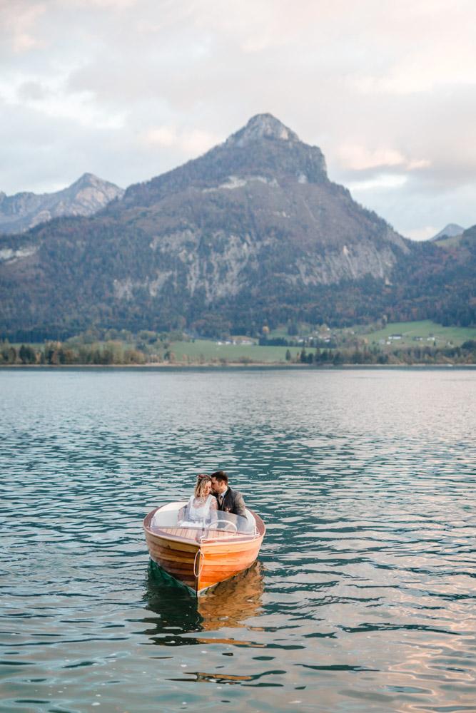 Trachten-Romanze am Wolfgangsee