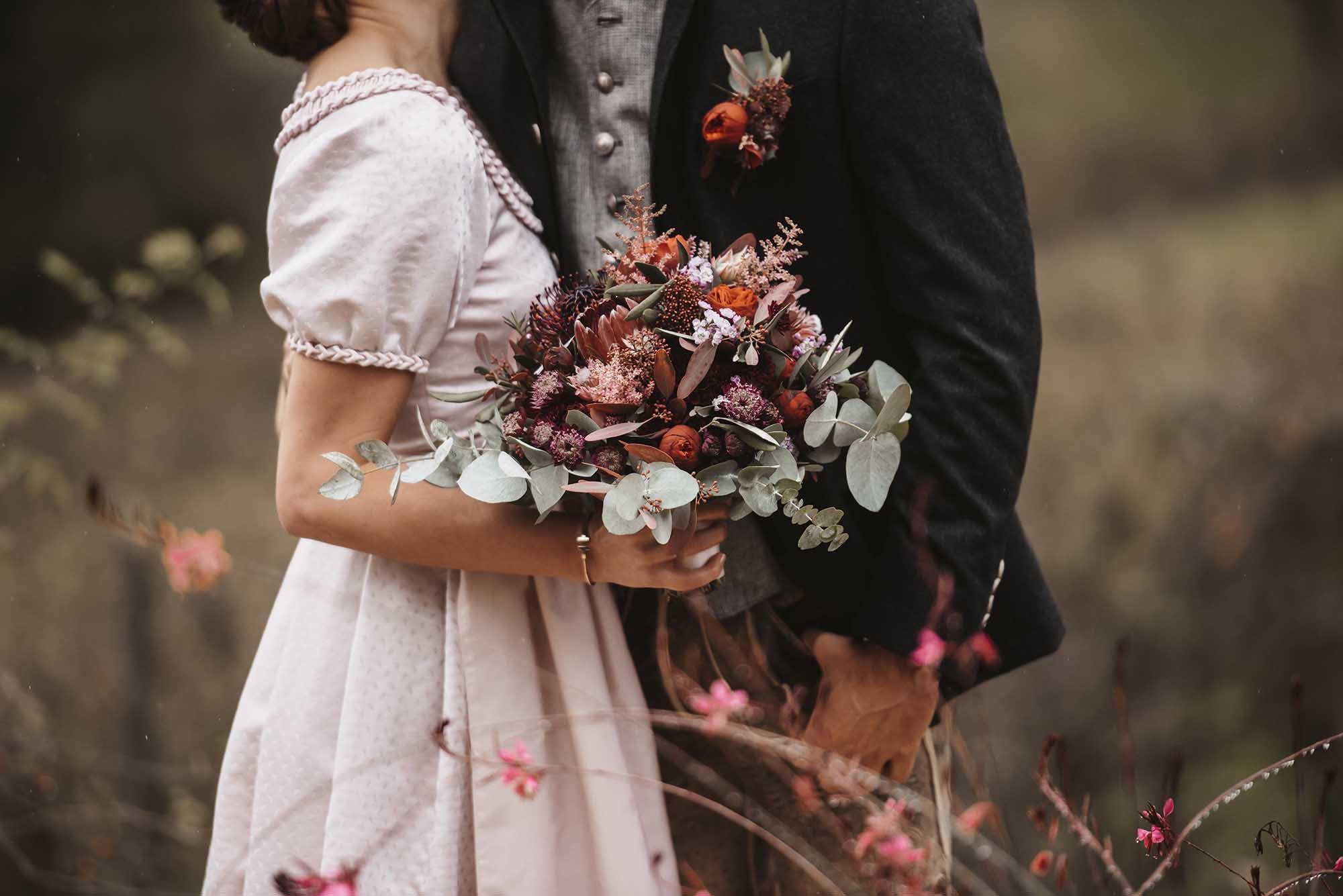 Hochzeitsfloristik von Blumen Draxler