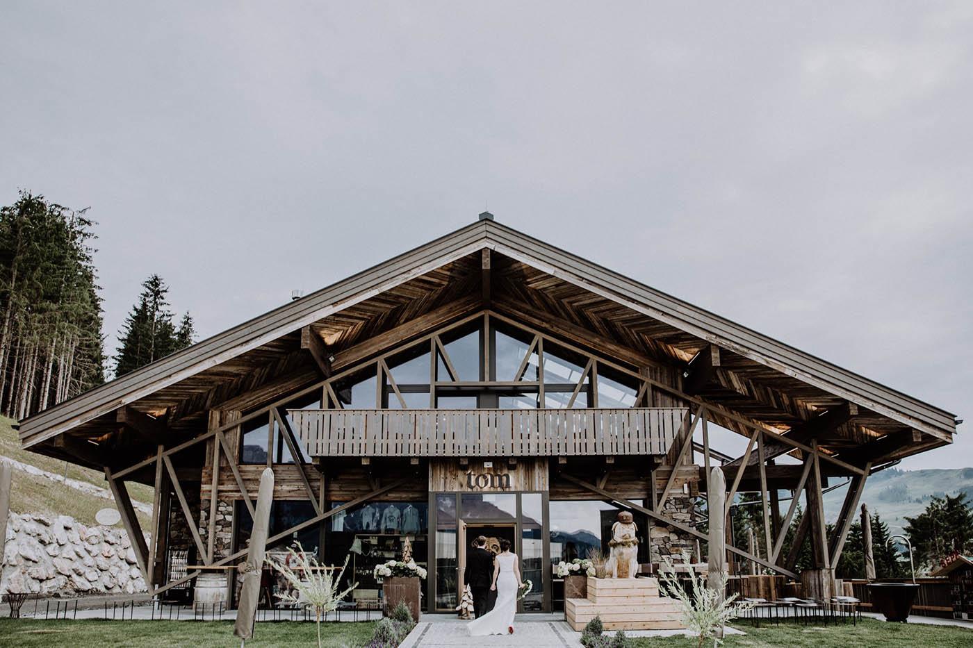 """Hochzeitslocation """"TOM Almhütte"""""""