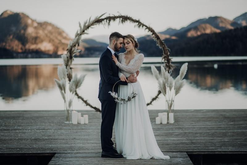Der beste Zeitpunkt fürs Brautpaarshooting