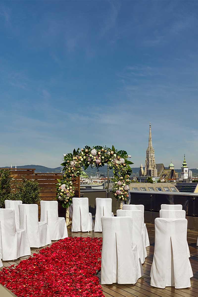 """Hochzeitslocation """"The Ritz-Carlton, Vienna"""""""