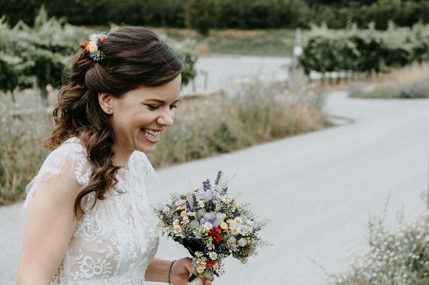 Brautstyling von Marion Hoffmann