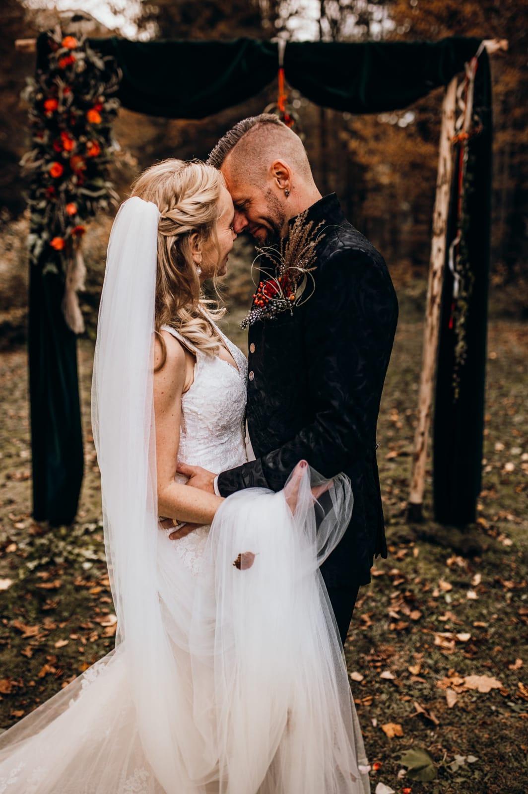 Hochzeit von Christine & Simon aus Schlins