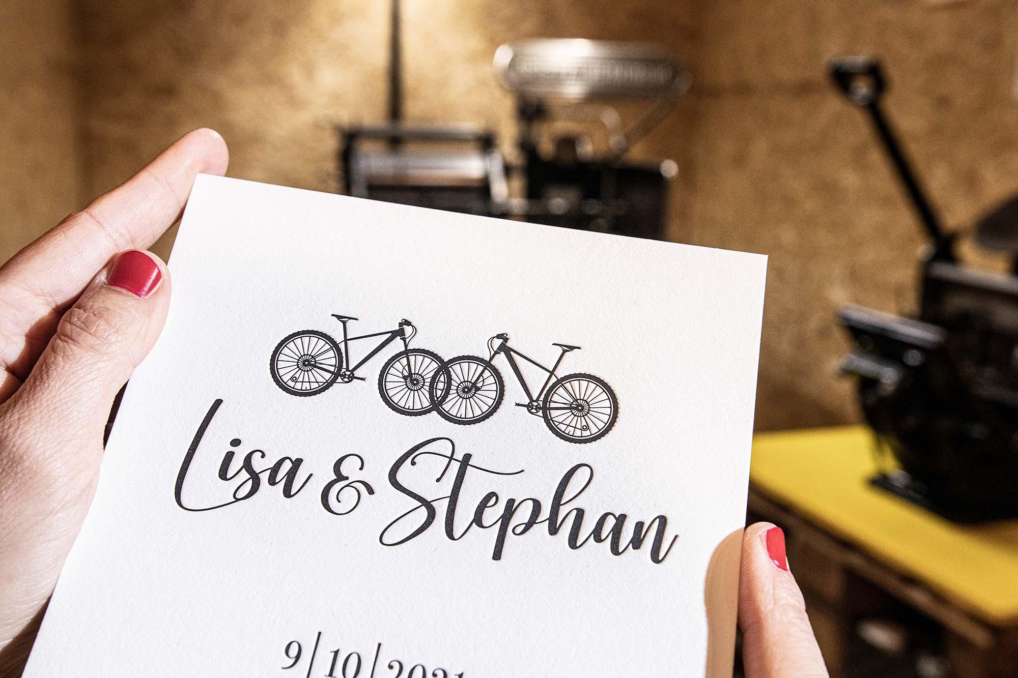Hochzeitspapeterie von Herzdame Letterpress