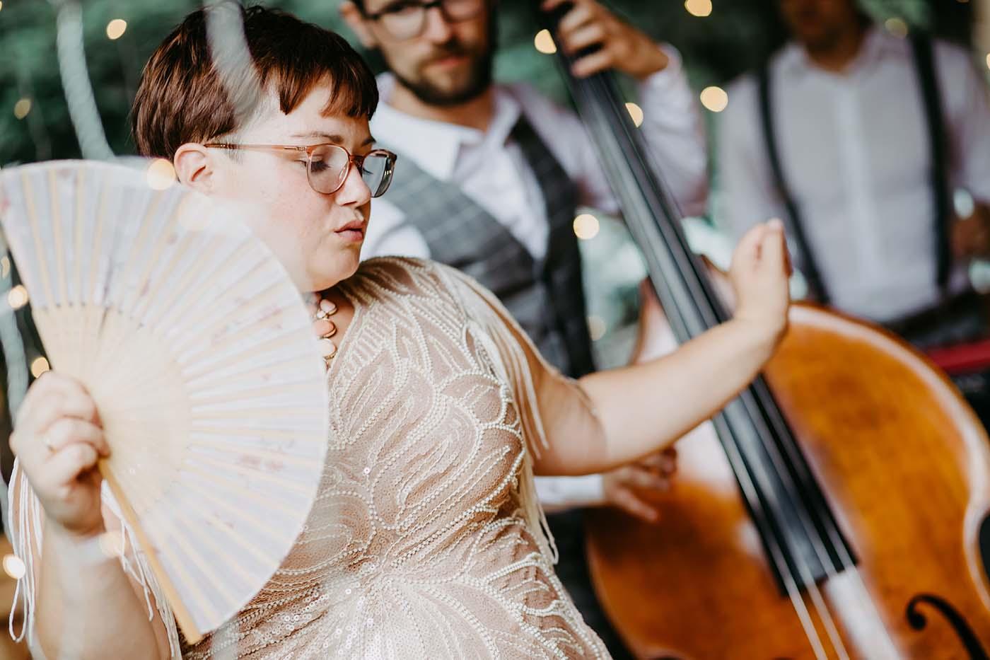 "Hochzeitsband ""Smoky Melody"""