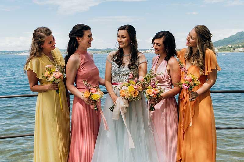 French Summer – Farbenfrohe Fine Art Hochzeit am Bodensee