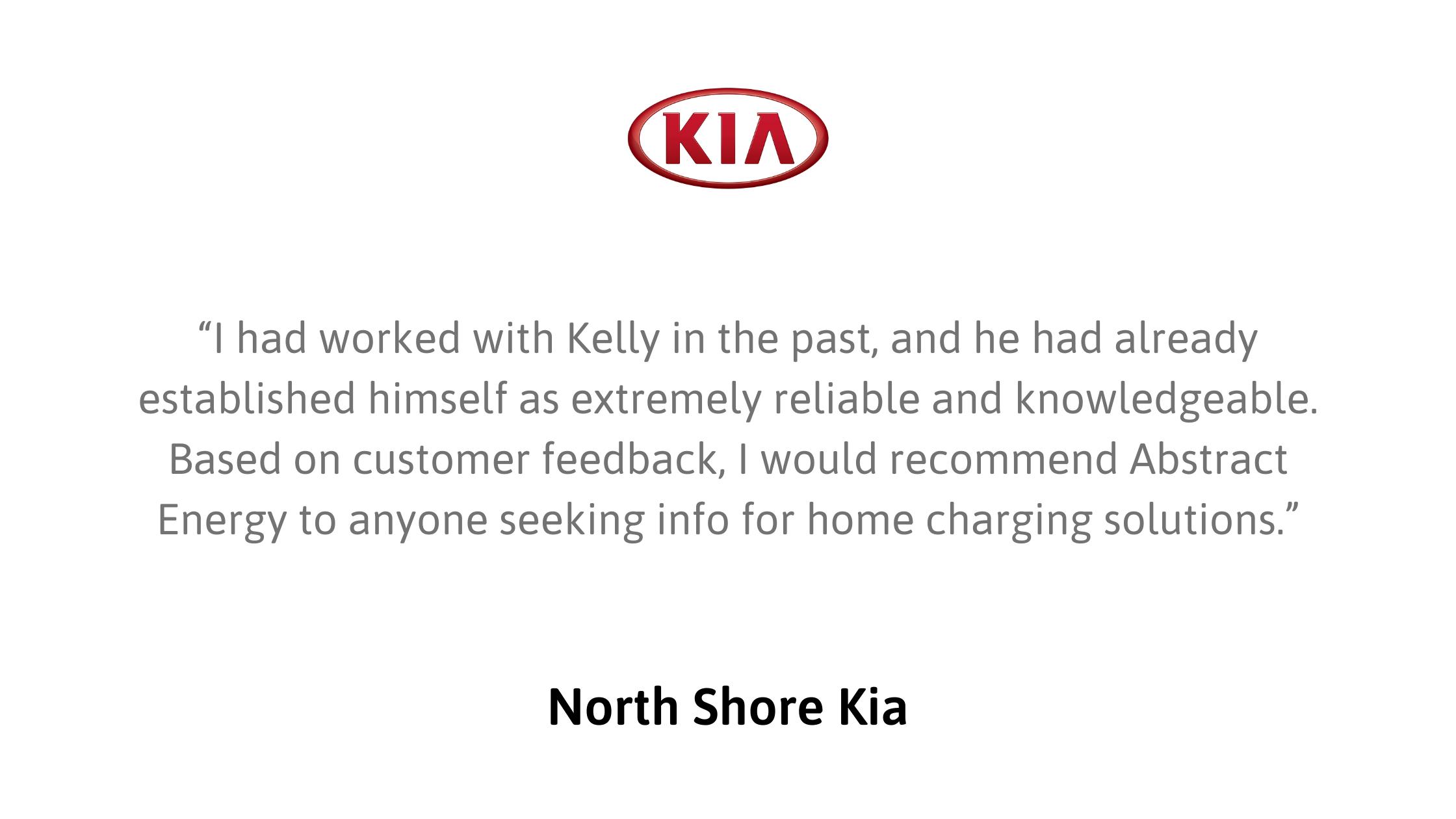 testimonial north shore kia