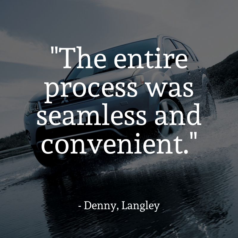 Testimonial - The entire process was seamless and convenient.