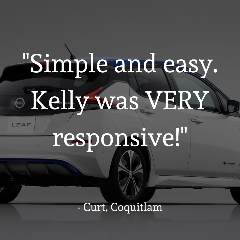 Testimonial - Simple and easy. Kelly was VERY responsive.