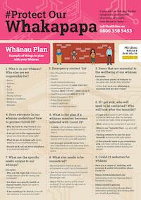 English - whanau plan