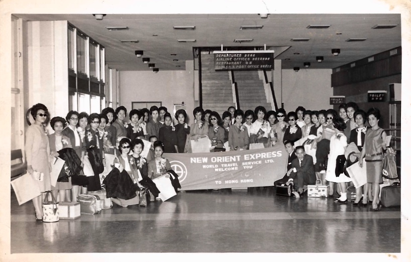 Filipino nurses going to America  via New Orient Express
