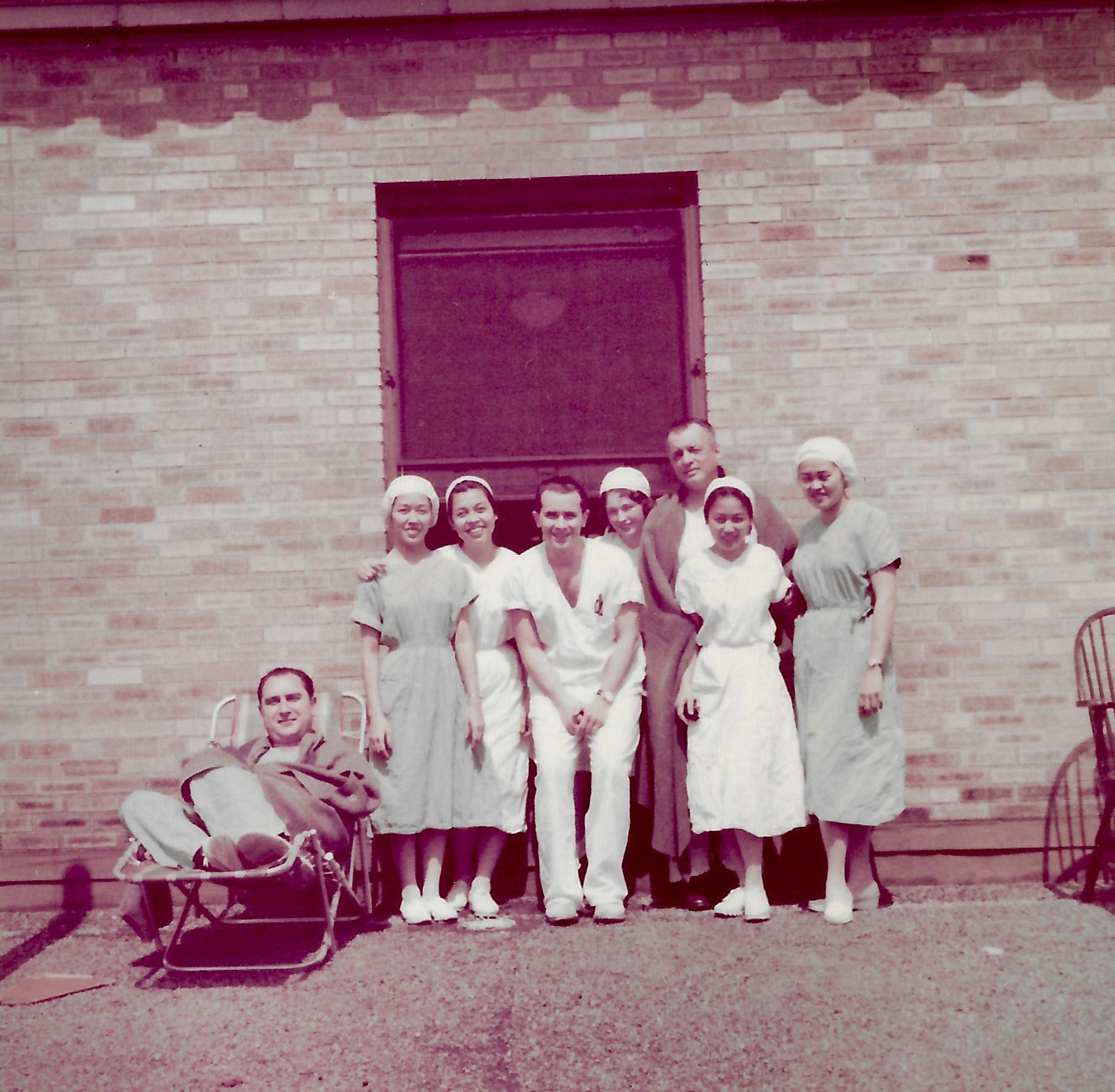 Newark Beth Israel hospital  surgeons and OR staff