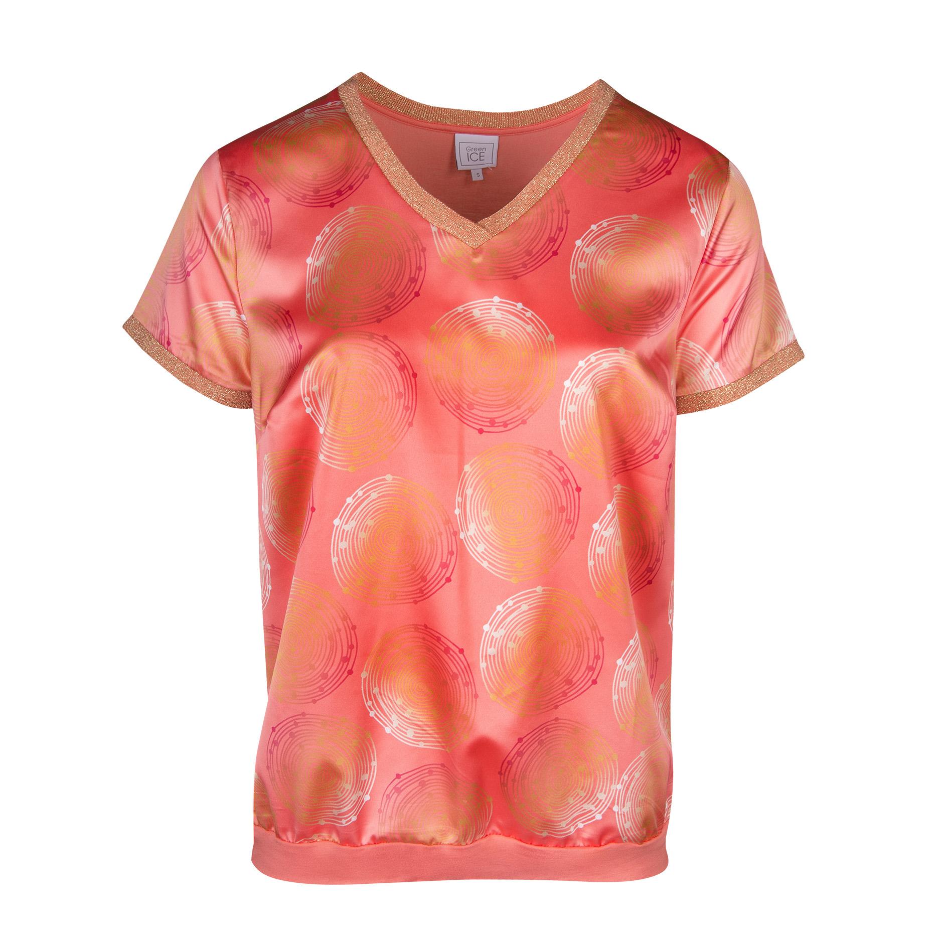 T-Shirt 'Caleb' Mandarine
