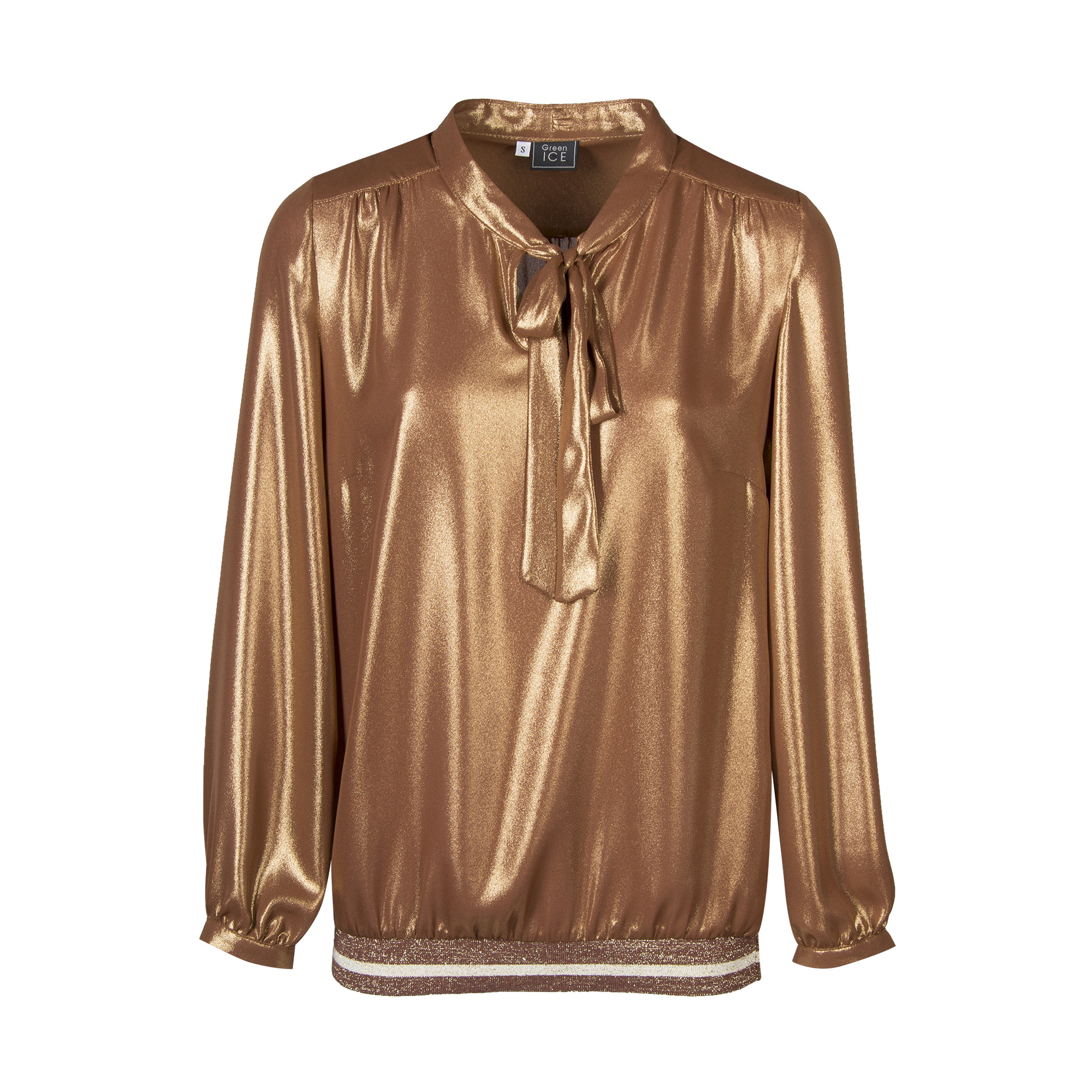 Blouse 'Daan' Brandy