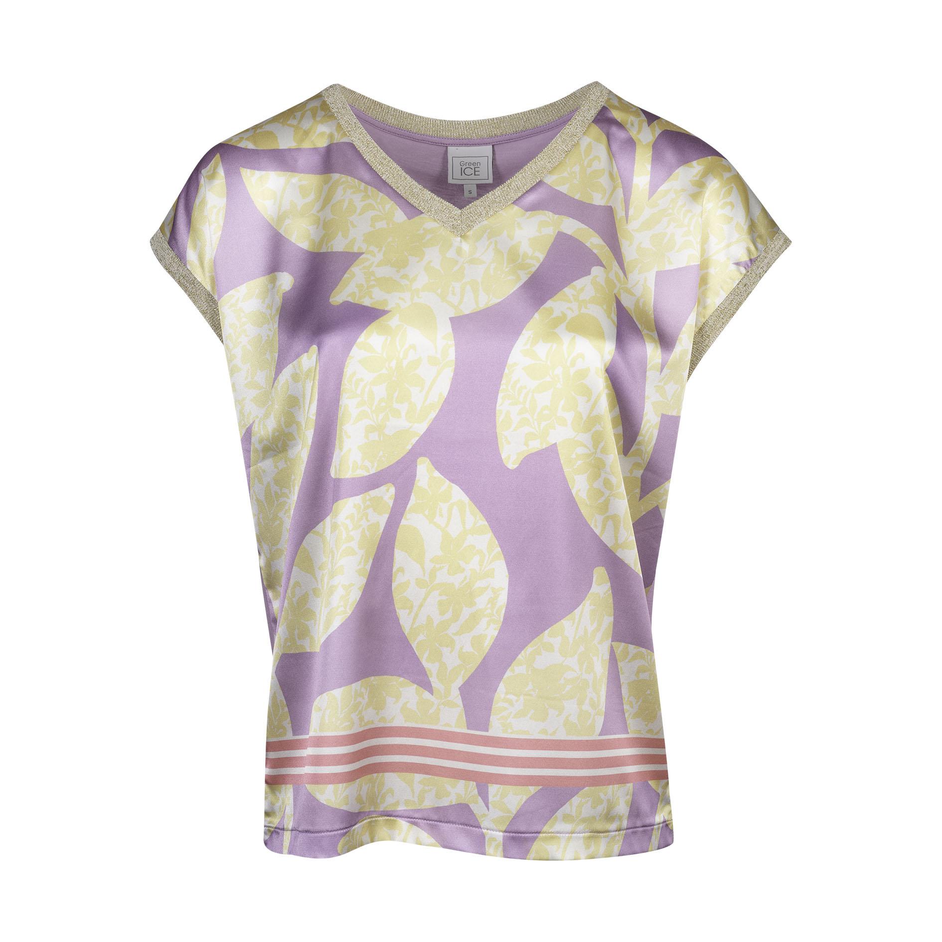 T-Shirt 'Conny' Lila