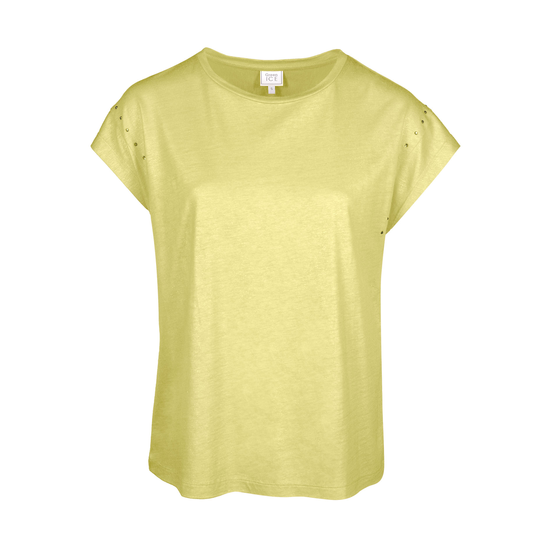T-Shirt 'Pepper' Yellow