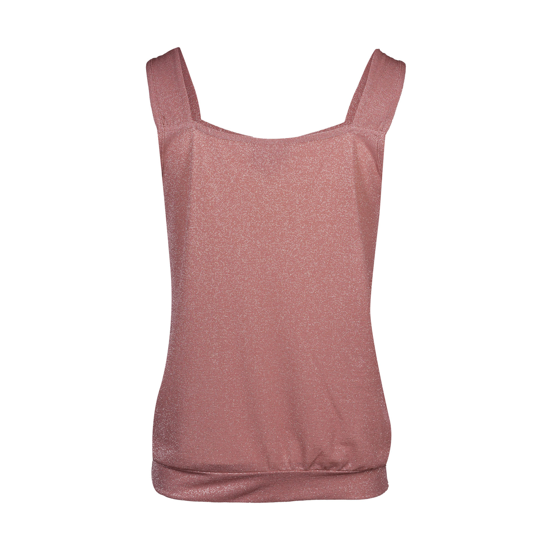 Top 'Cannes/Lurex' Framboise