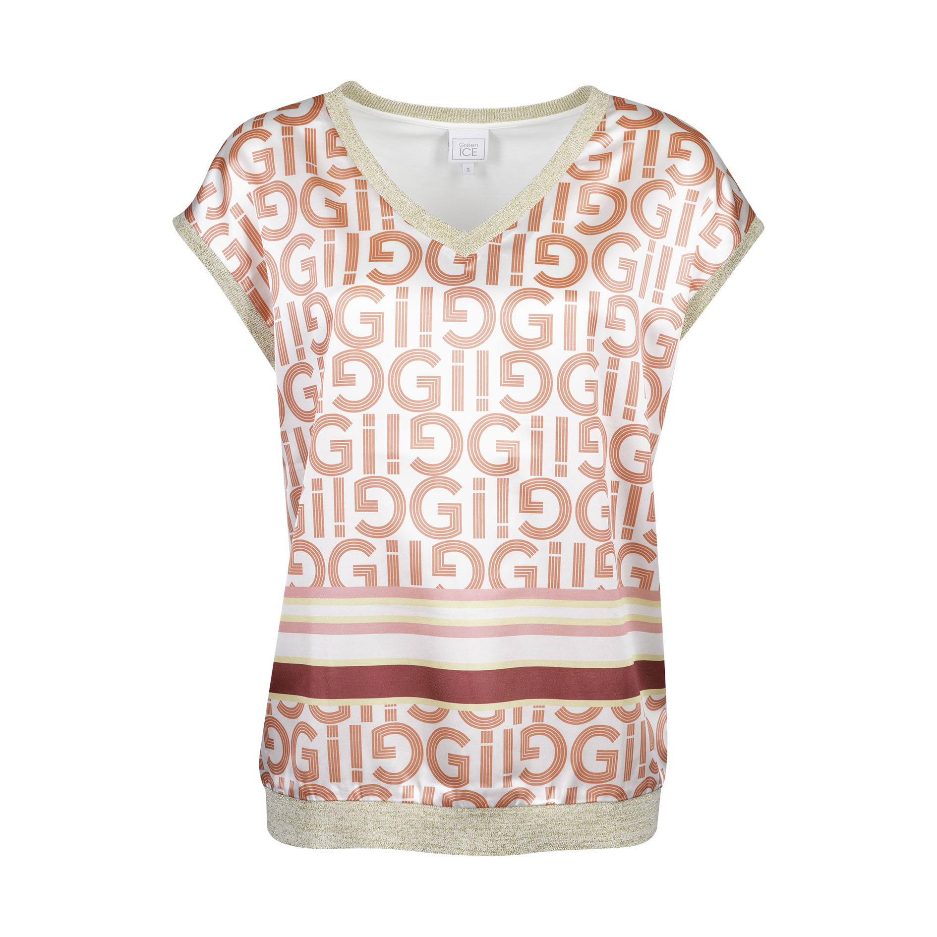 T-Shirt 'Clarice' Ecru