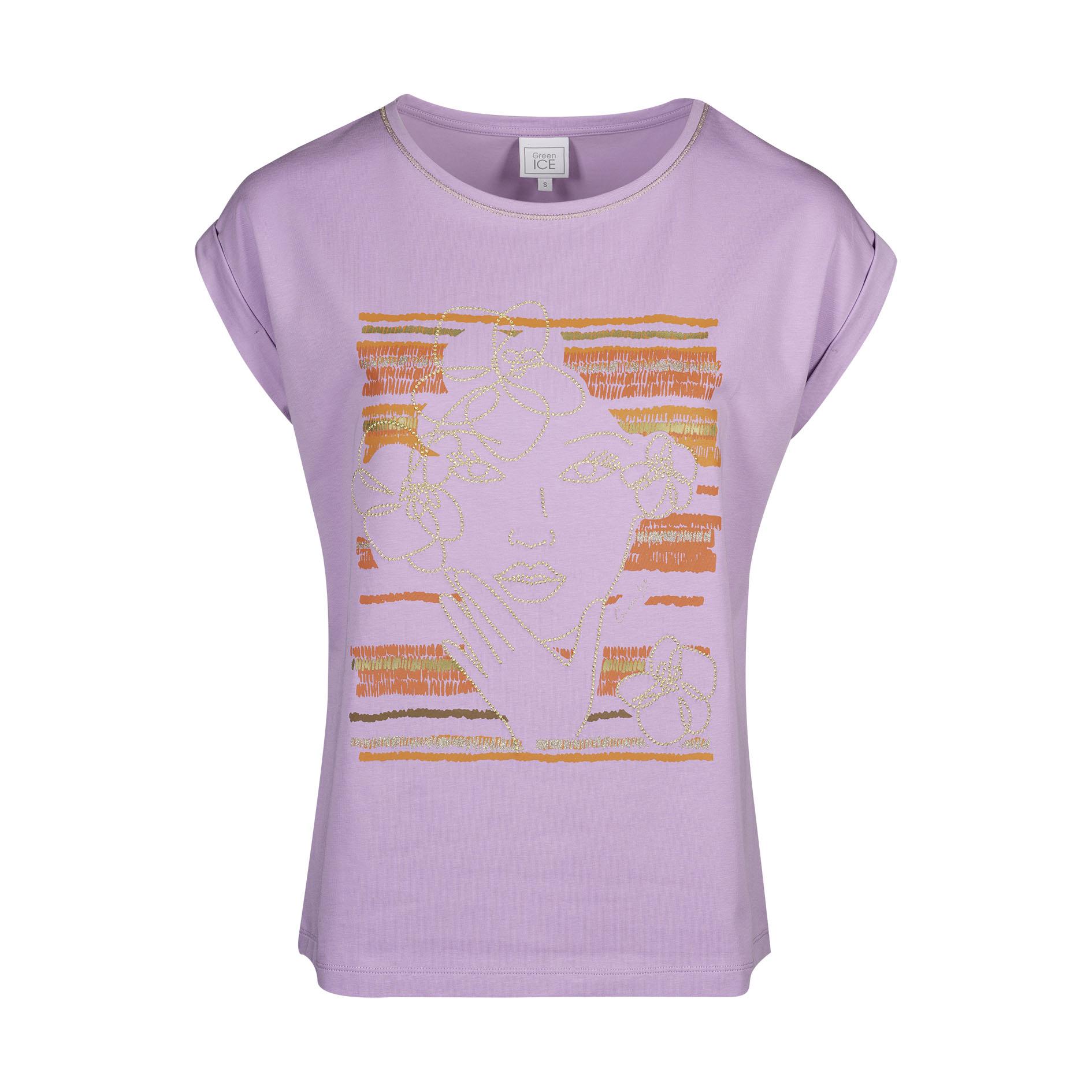 T-Shirt 'Clemma' Lila
