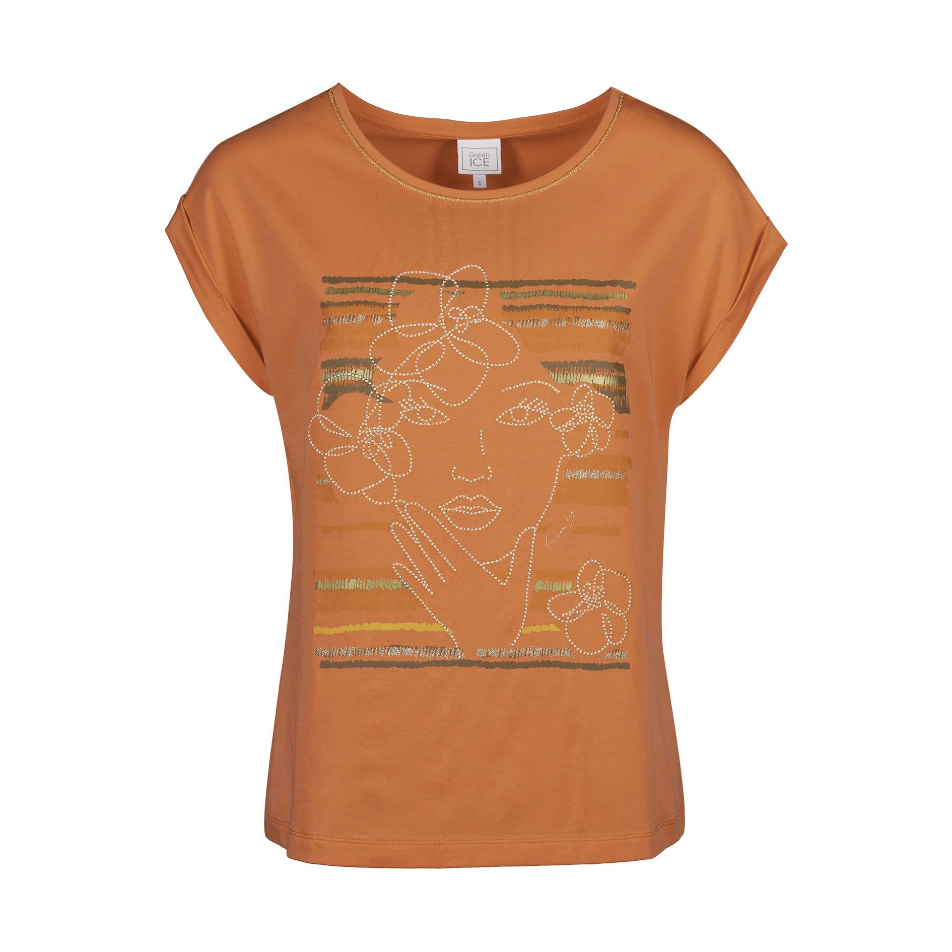 T-Shirt 'Clemma' Peach
