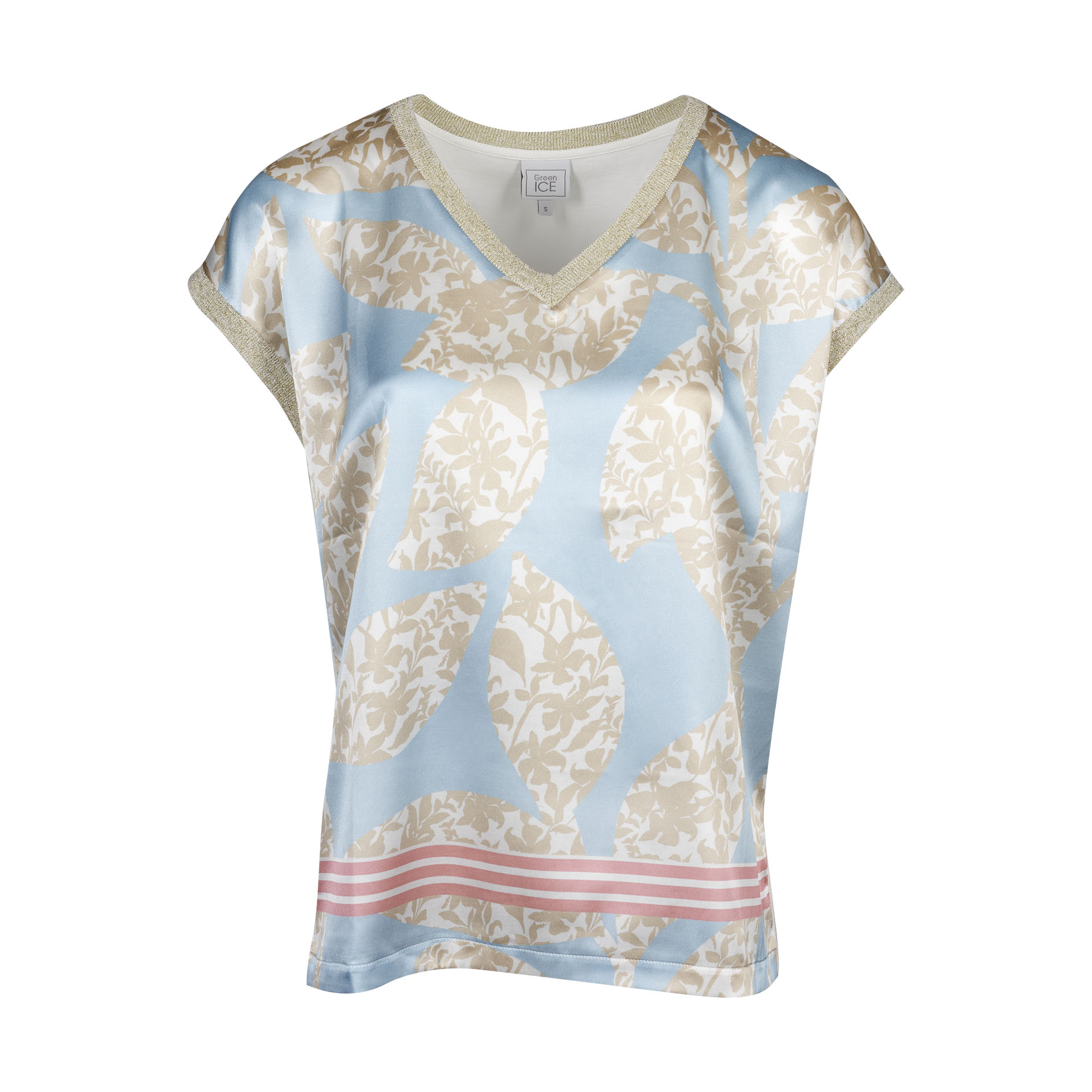 T-Shirt 'Conny' Aqua
