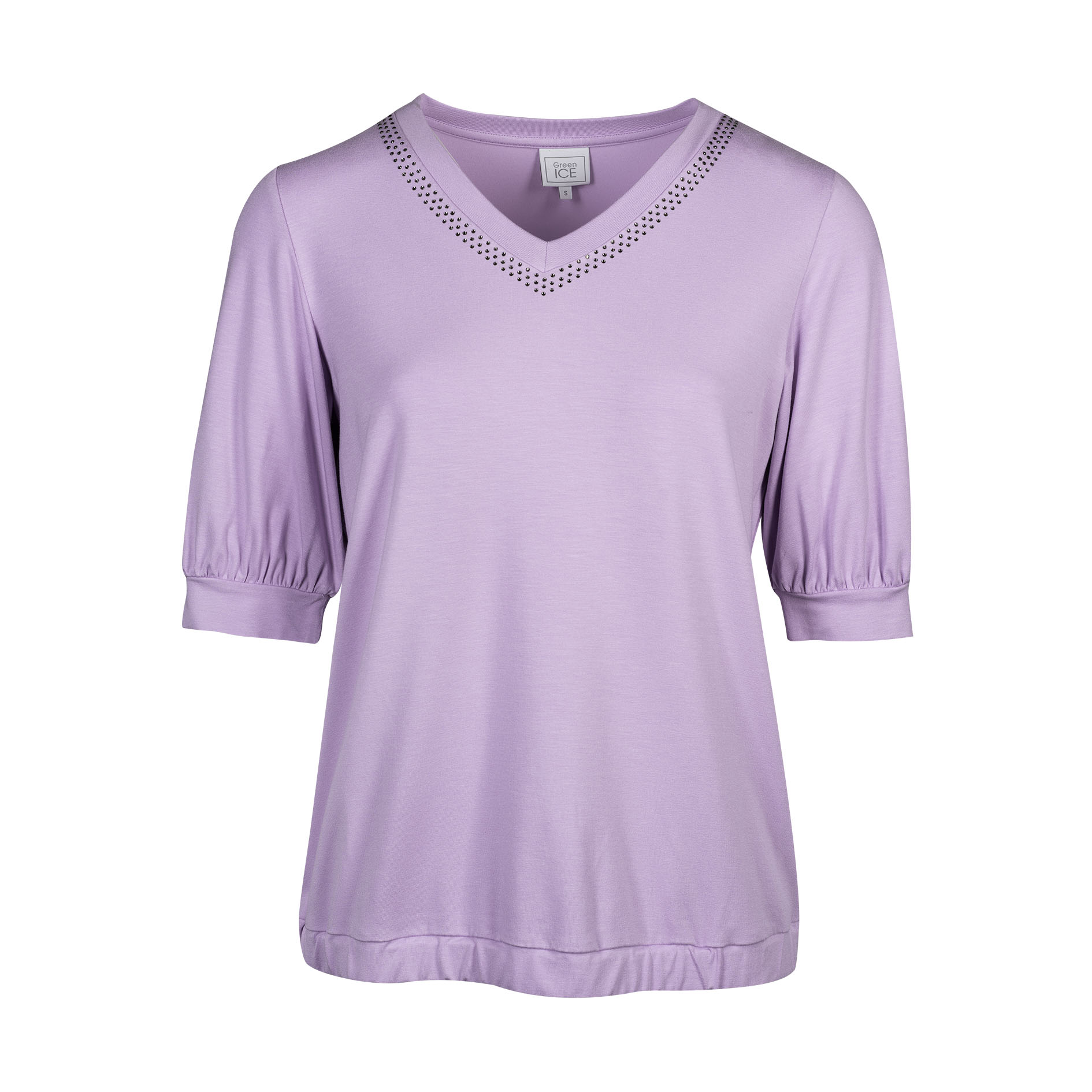 T-Shirt 'Constant' Lila