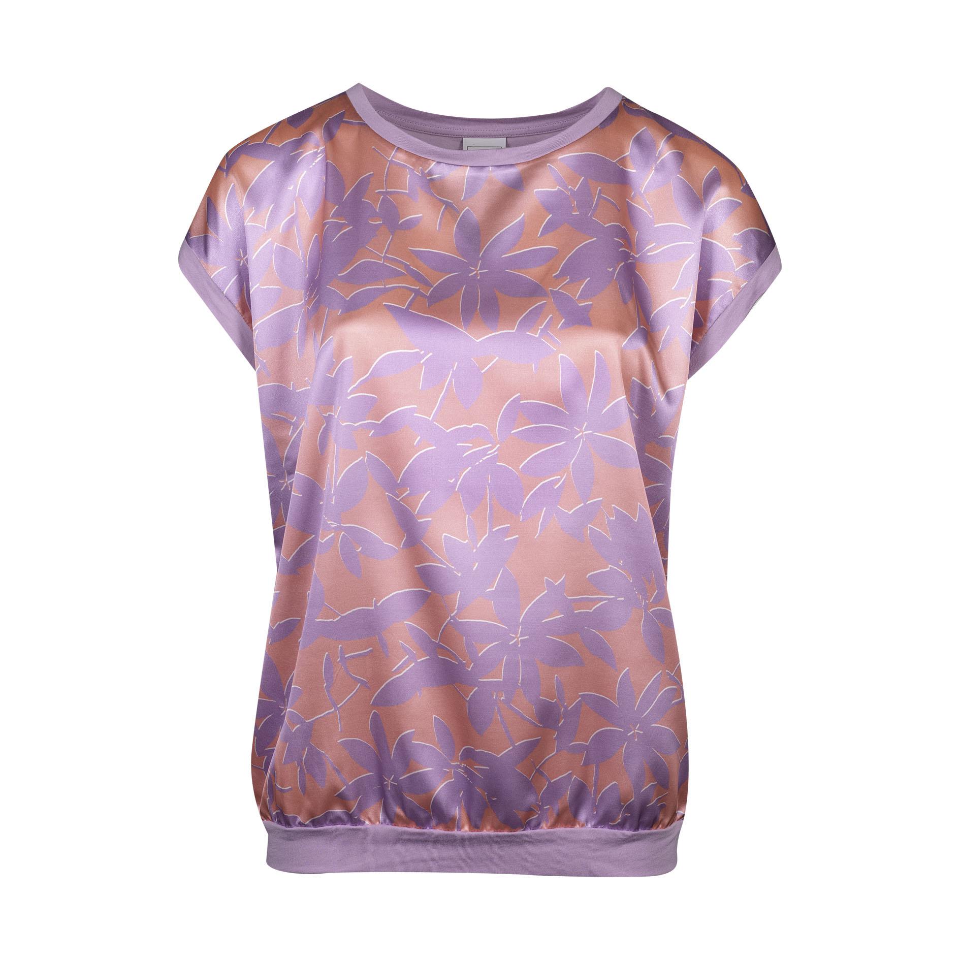 T-Shirt 'Converse' Lila