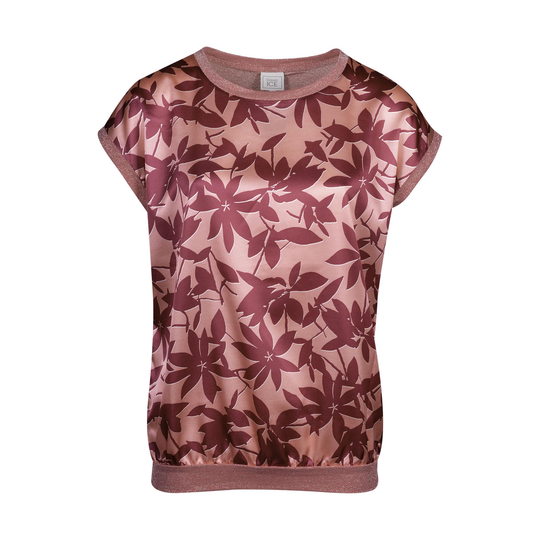 T-Shirt 'Converse/Lurex' Framboise