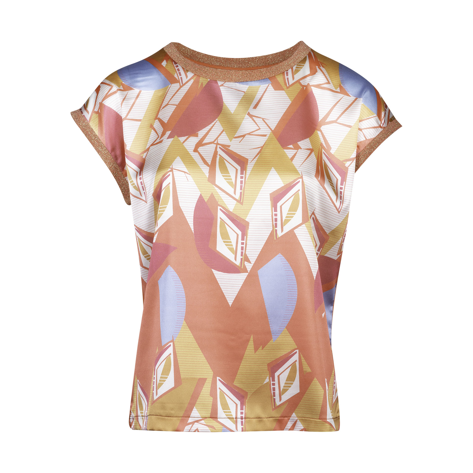 T-Shirt 'Creole' Peach