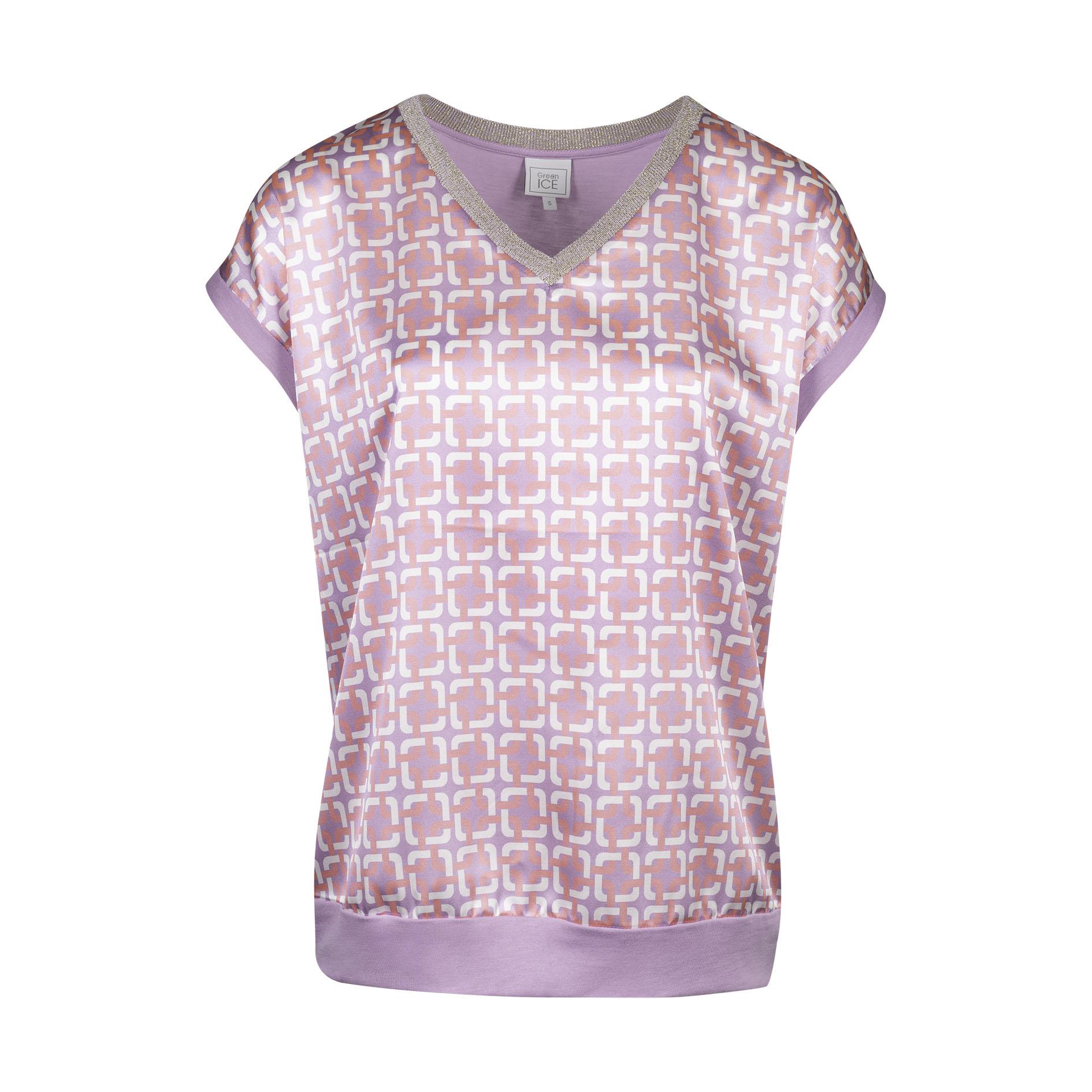 T-Shirt 'Crimson' Lila