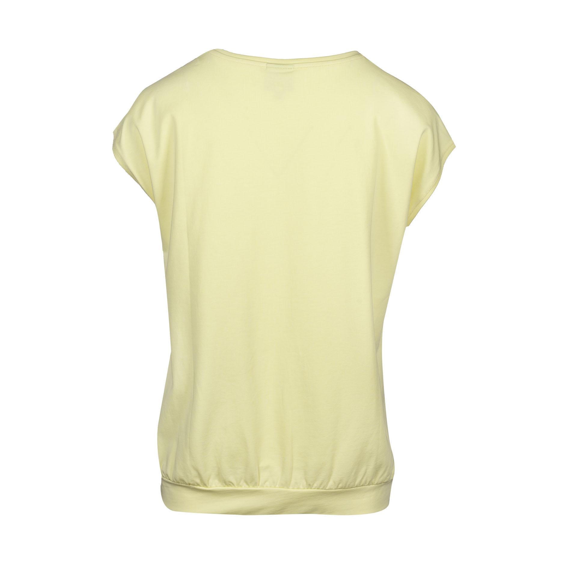 T-Shirt 'Crimson' Yellow