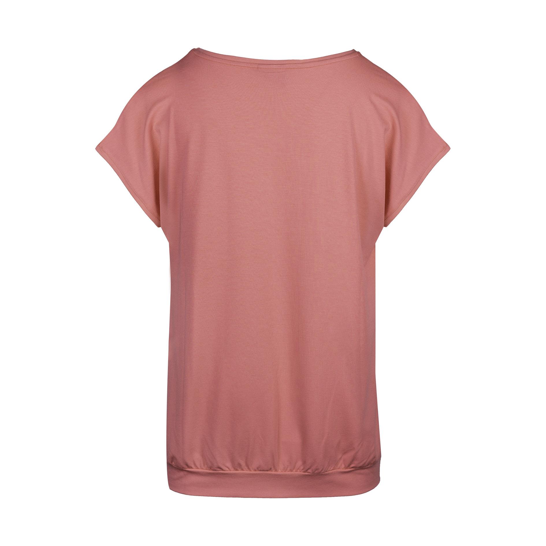 T-Shirt 'Crimson' Ecru/Rose