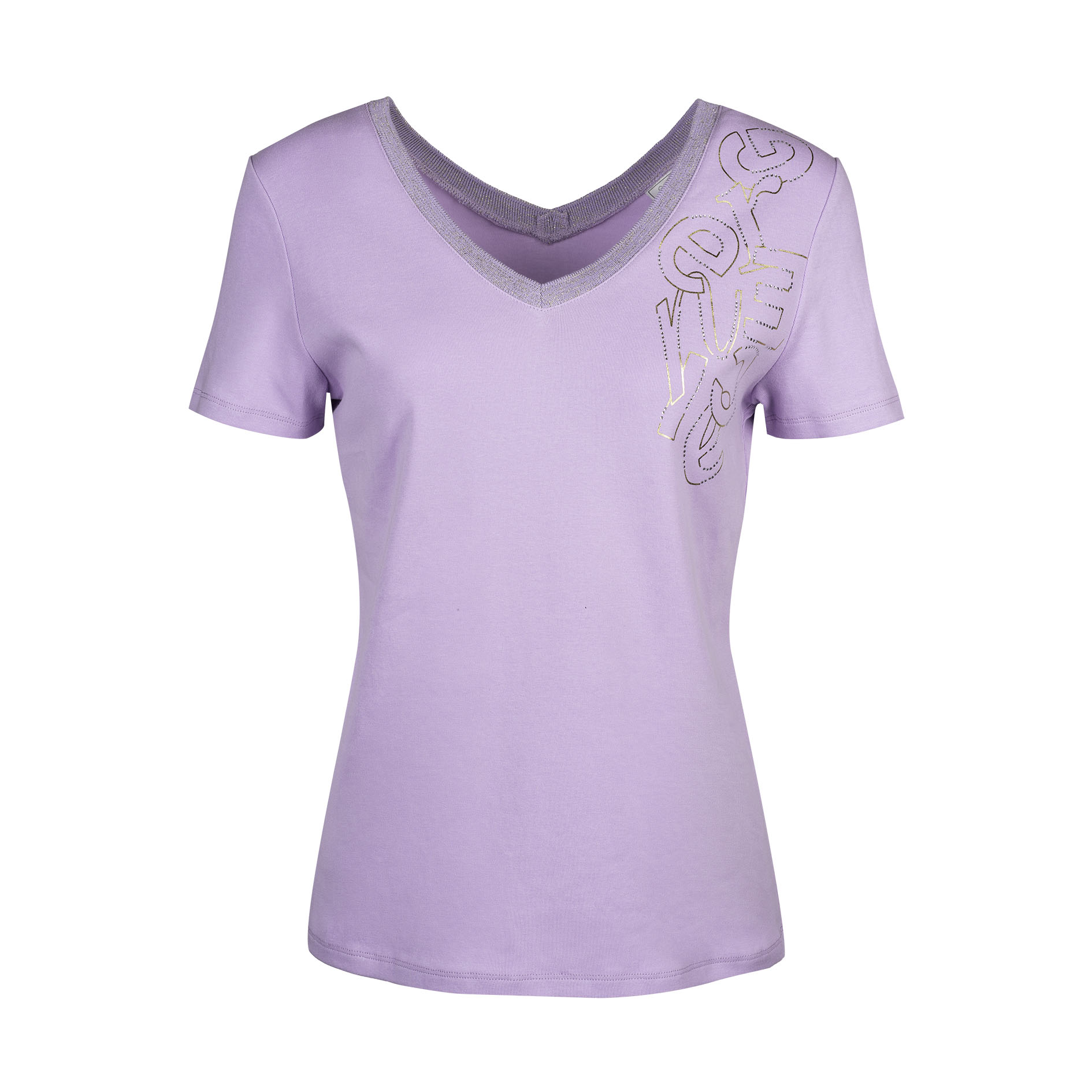 T-Shirt 'Haddie' Lila