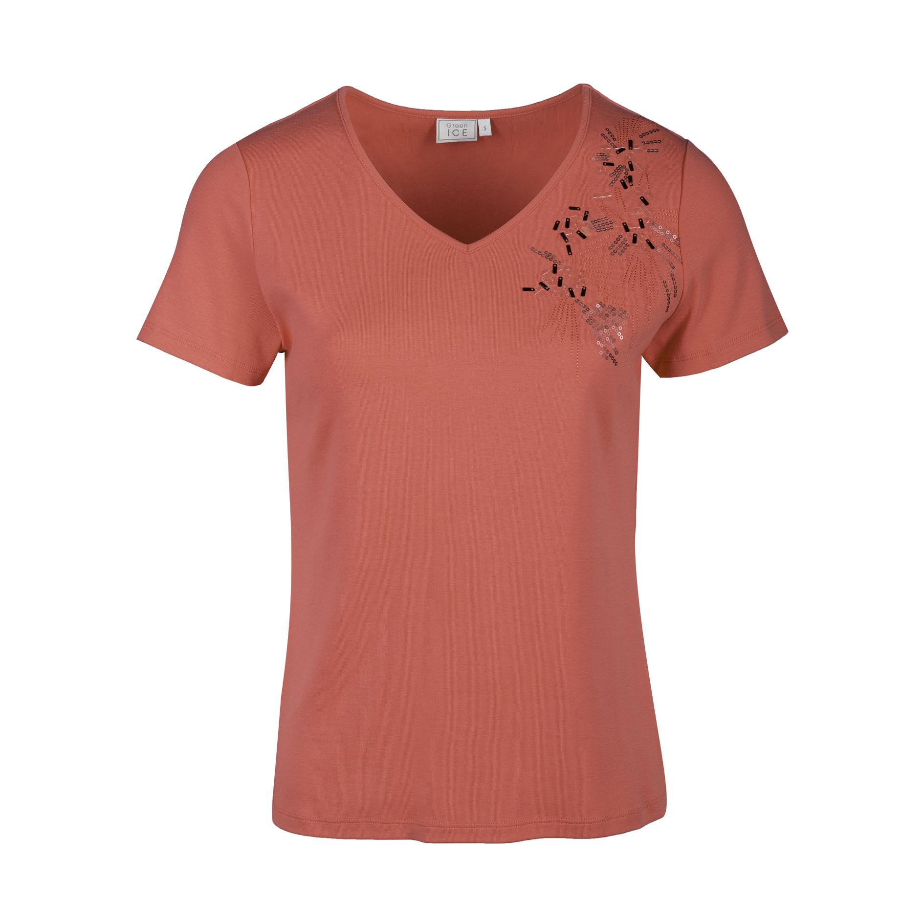 T-Shirt 'Hybride' Rose