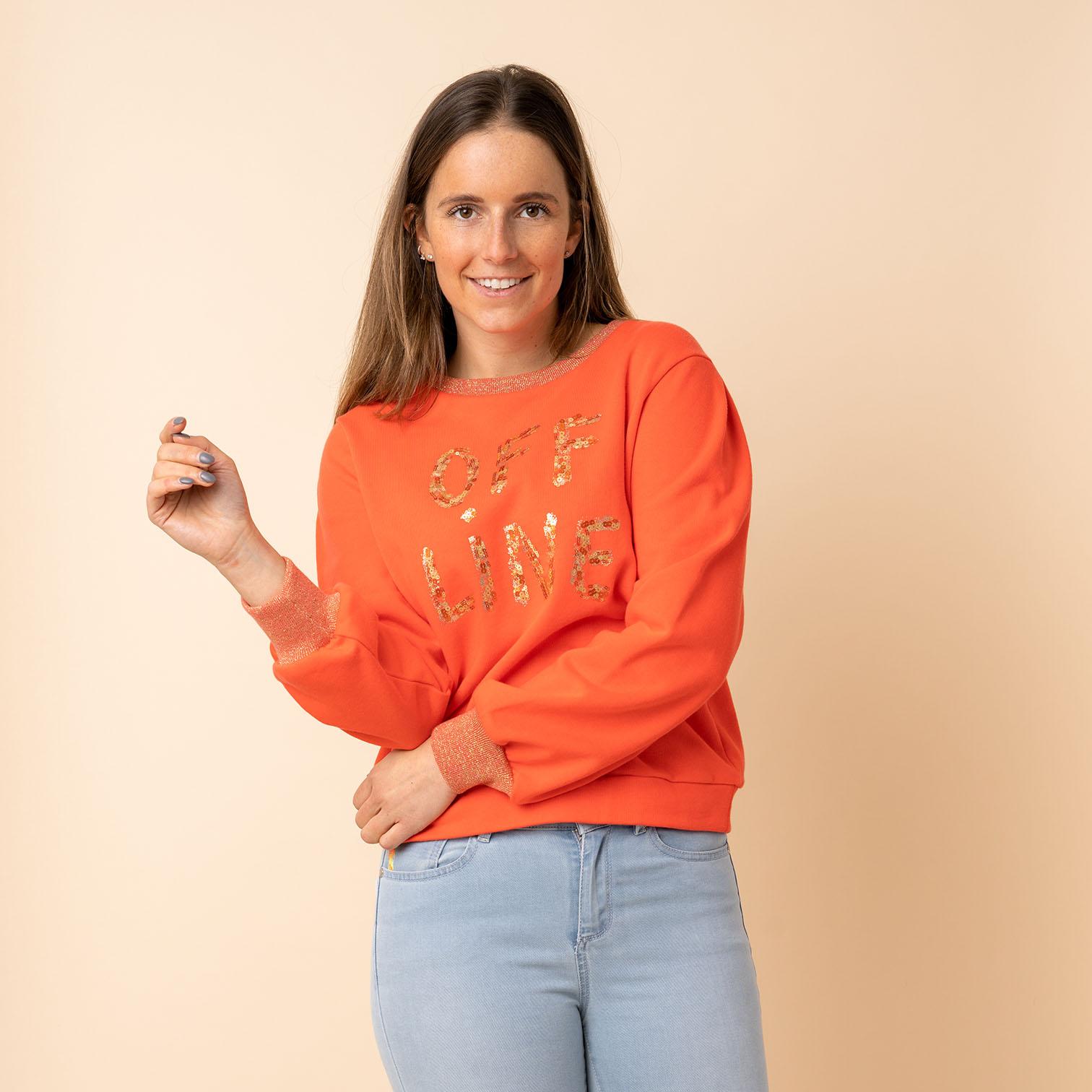 Sweater 'Camako' Peach
