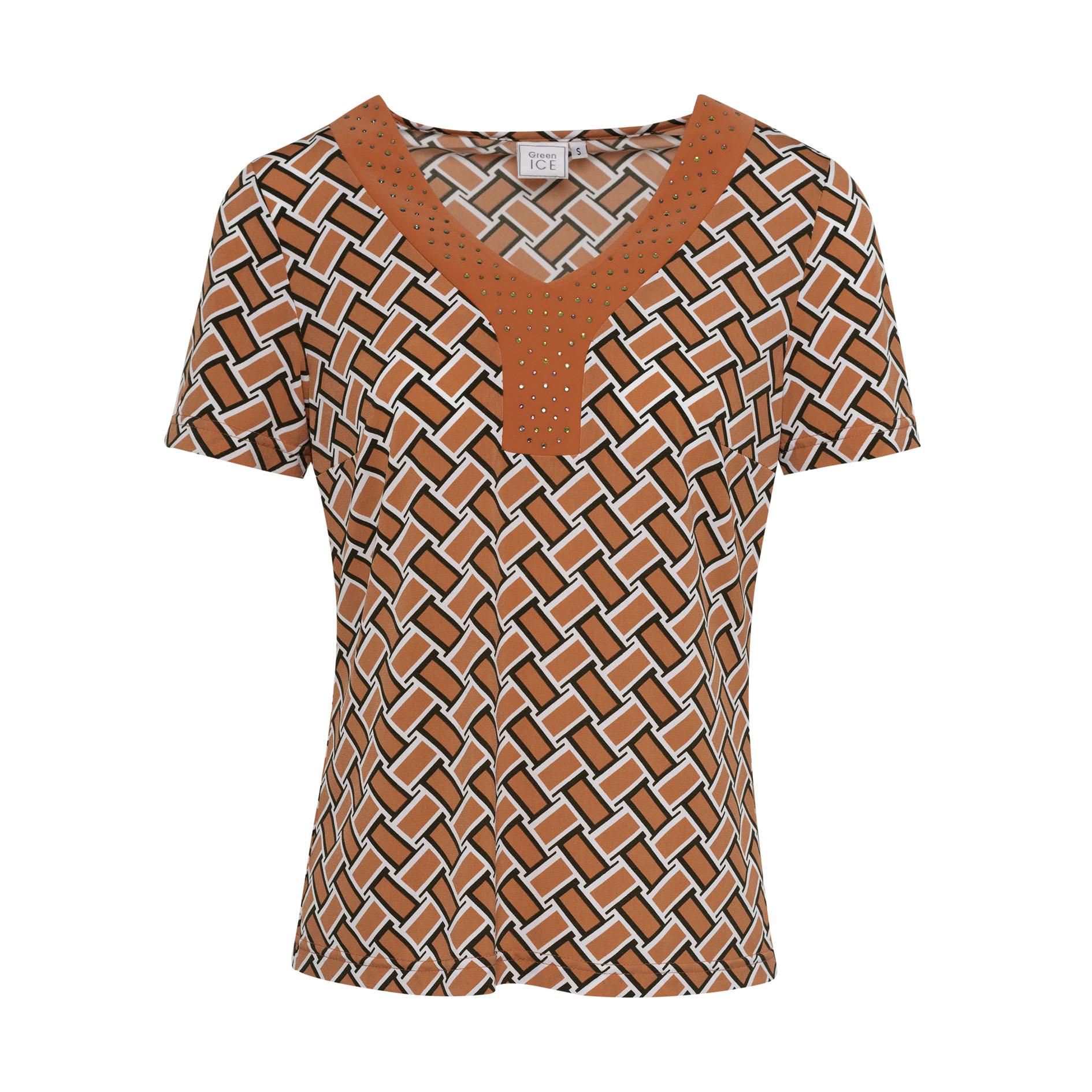 T-Shirt 'Diva' Mandarine