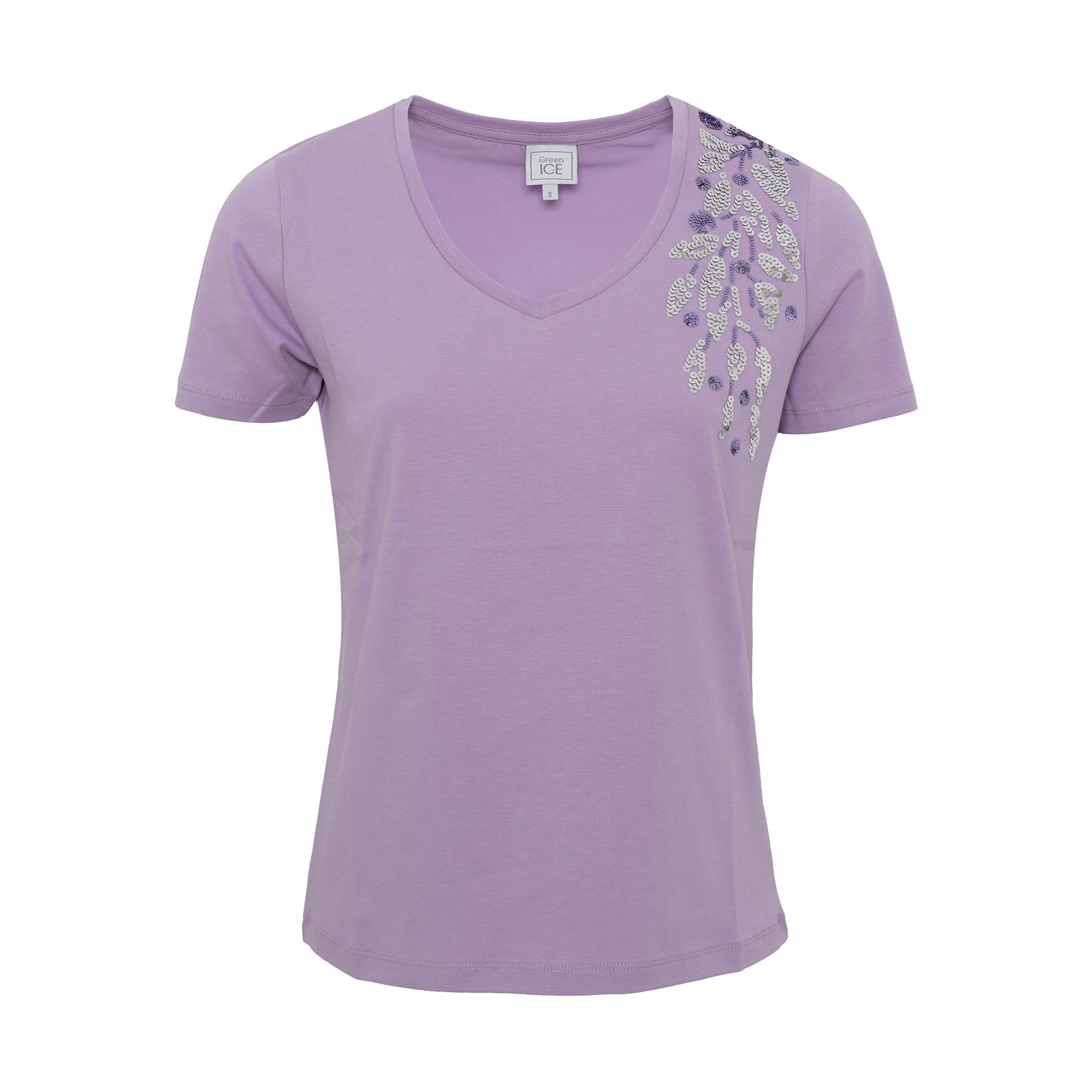 T-Shirt 'Champion' Lila