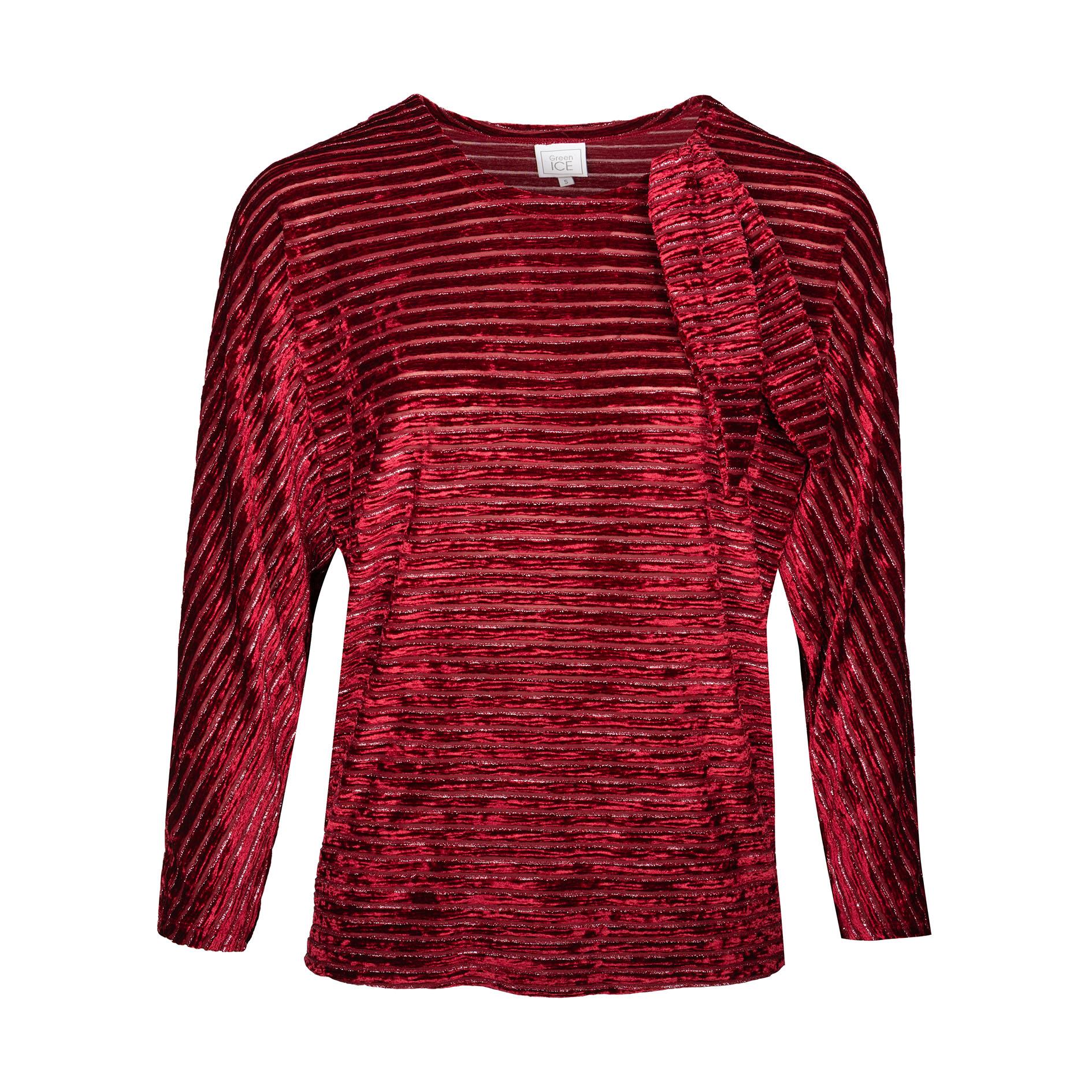 T-Shirt 'Peral' Burgundy