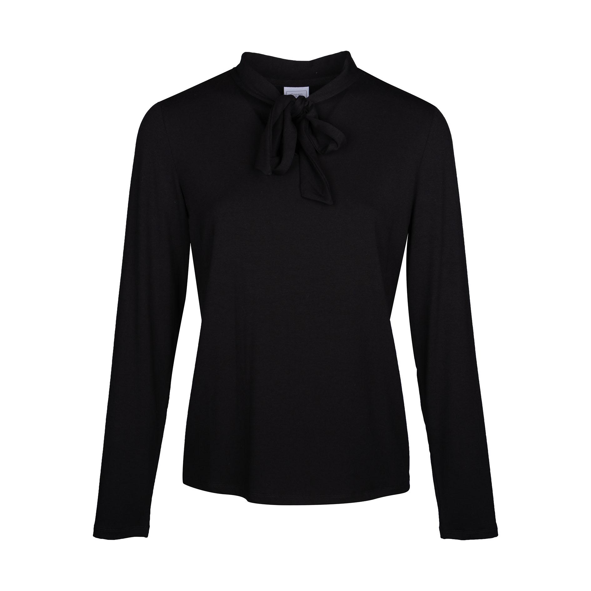 T-Shirt 'Poncho' Black