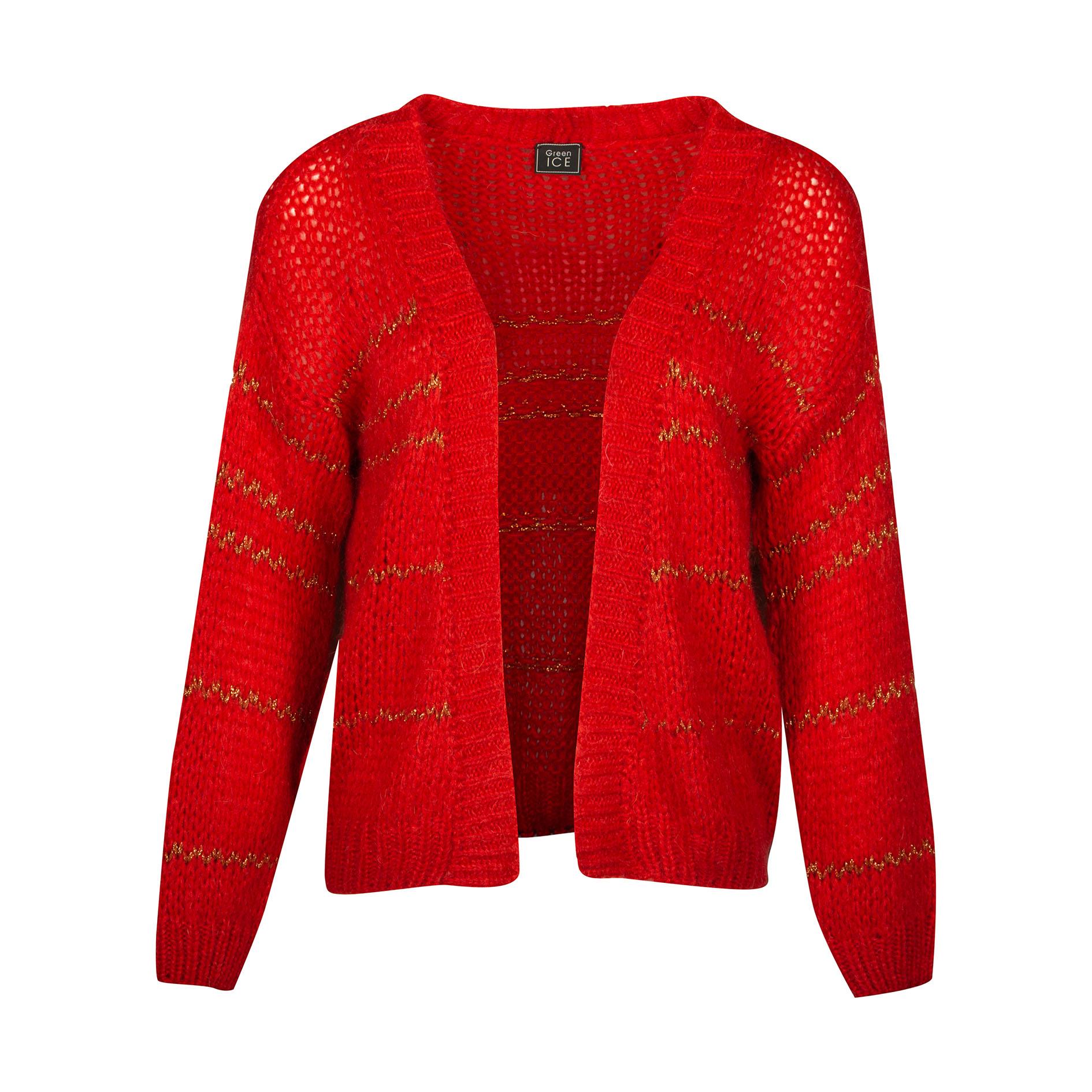 Cardigan 'Adana' Red