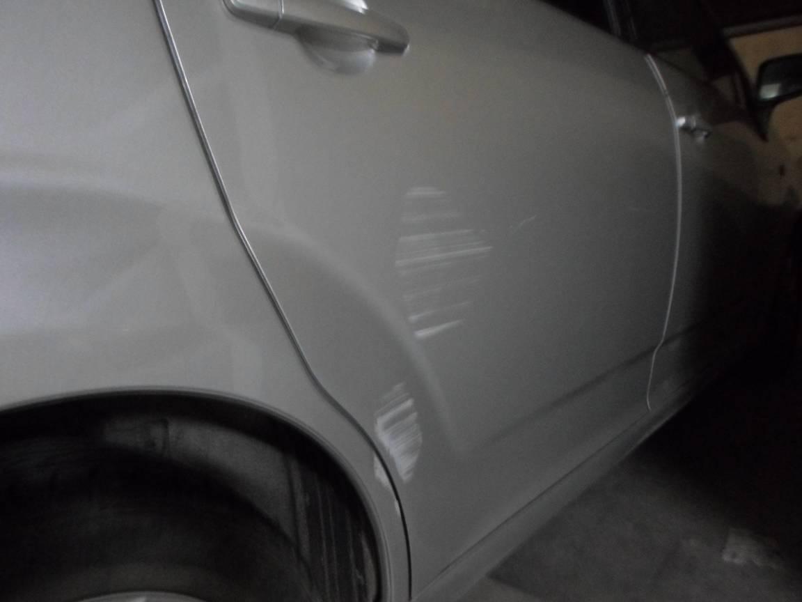 voiture abimée chez garagiste