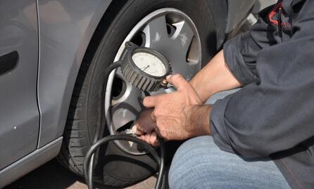 pression pneu