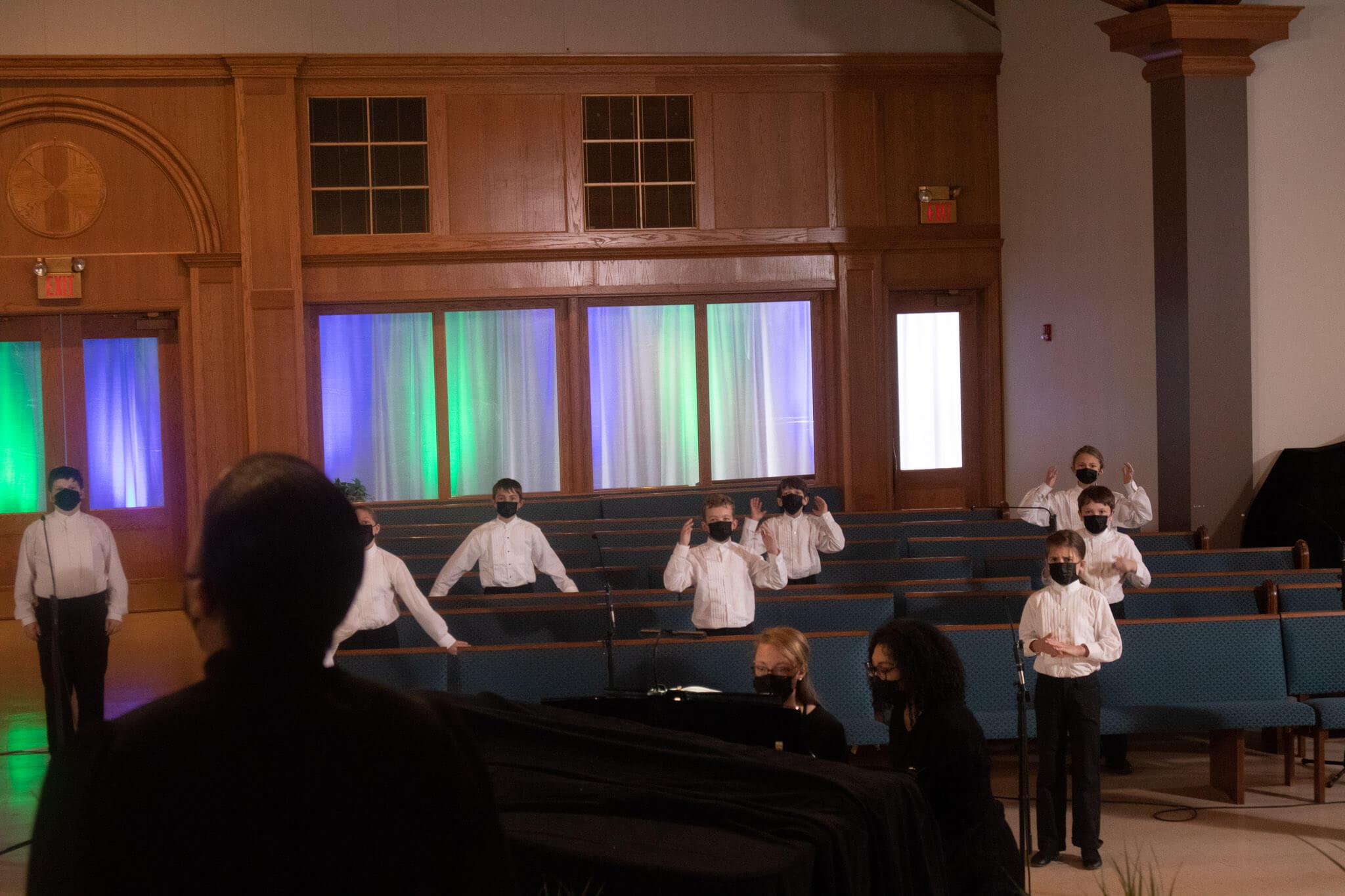 1B Spring Sing-Along Concert Photo