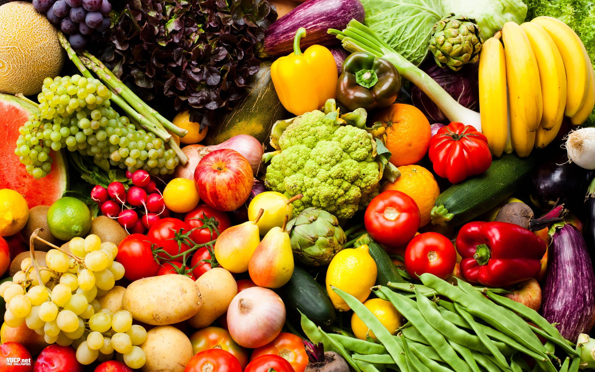 Meyve ve sebzeler.