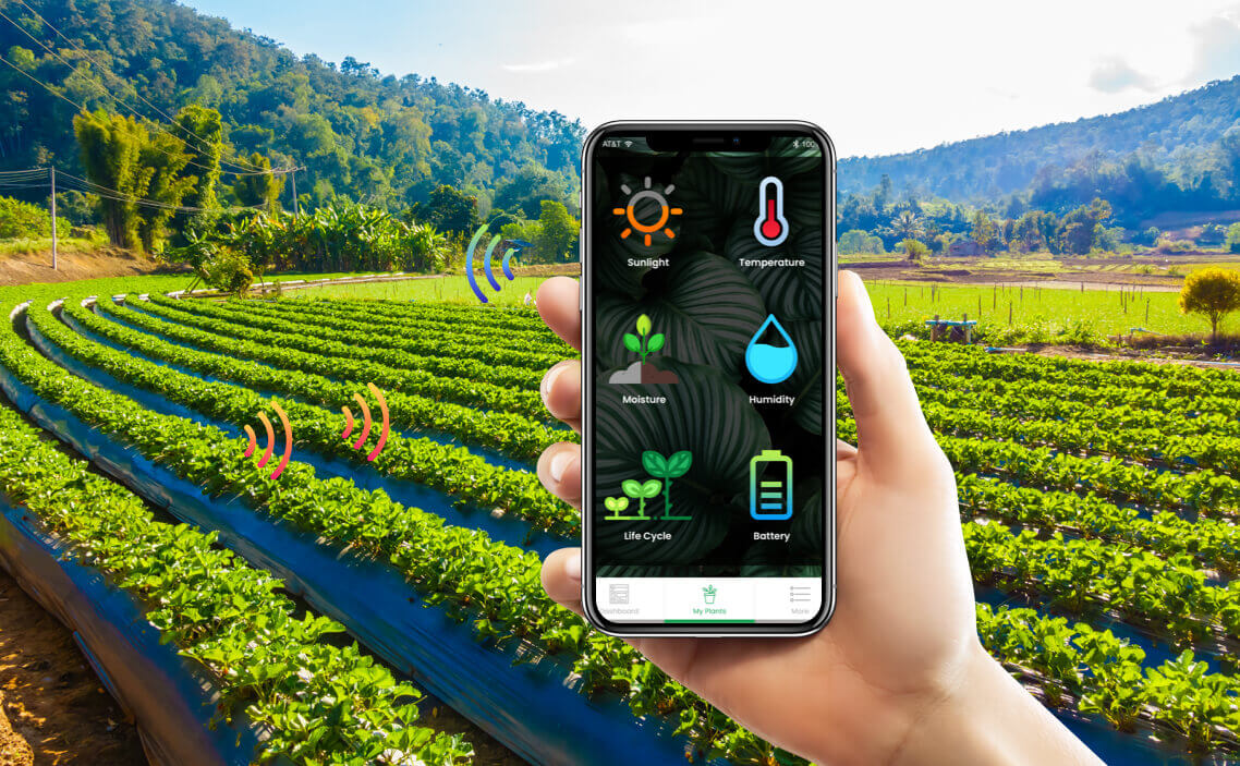 Tarımsal üretimin mobil iletişim araçlarına entegresi